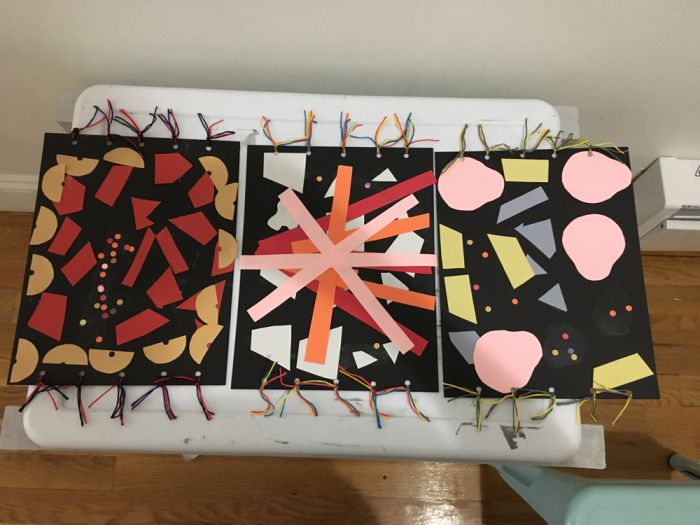 magic carpets by young students in Hoboken
