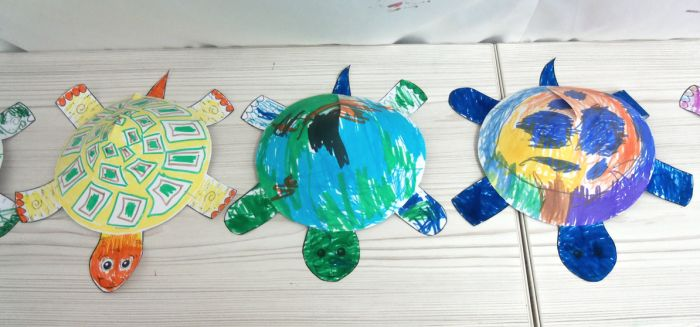 paper-3d-turtles-at-peaceful-frogsclass-hoboken